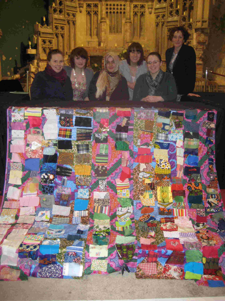 Photo of Manchester International Women's Day project
