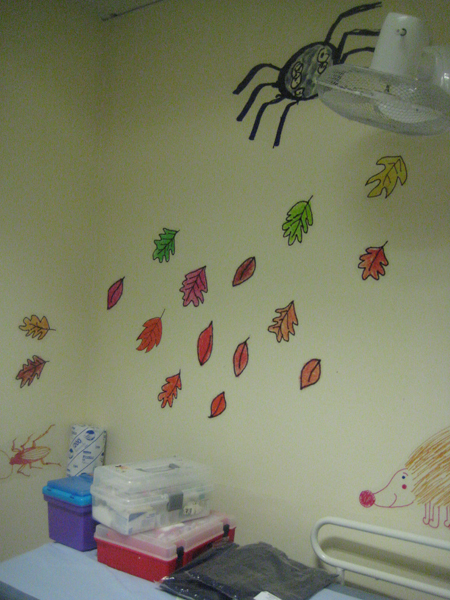 Photo of wall art project